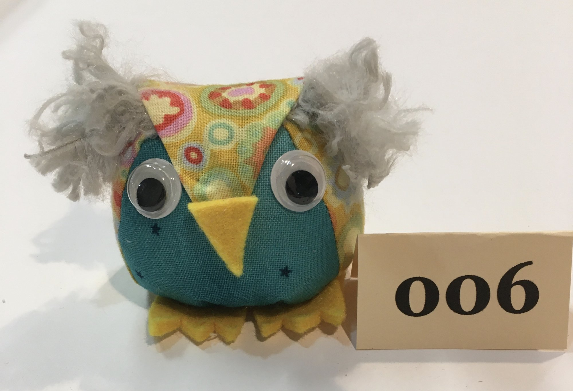 Baby Owl 6 Pincushion