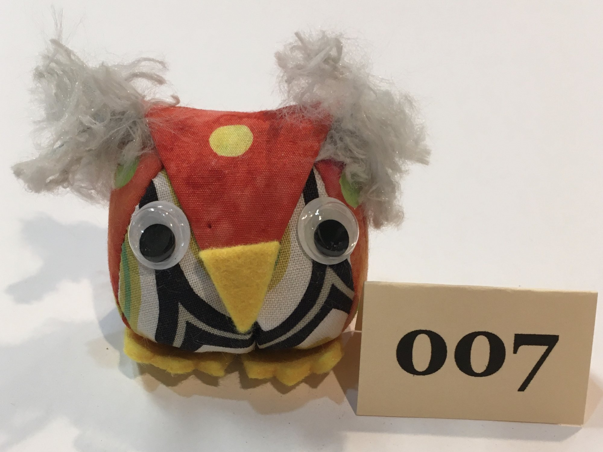 Baby Owl 7 Pincushion