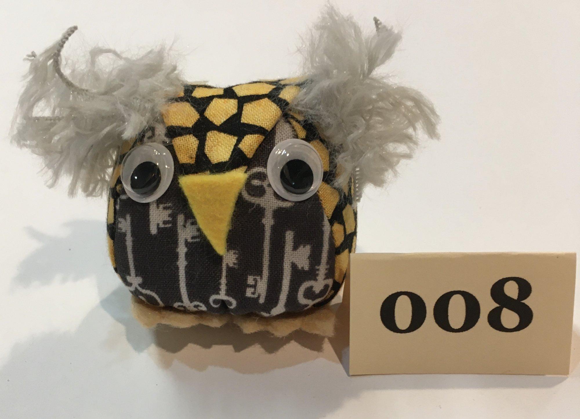 Baby Owl 8 Pincushion