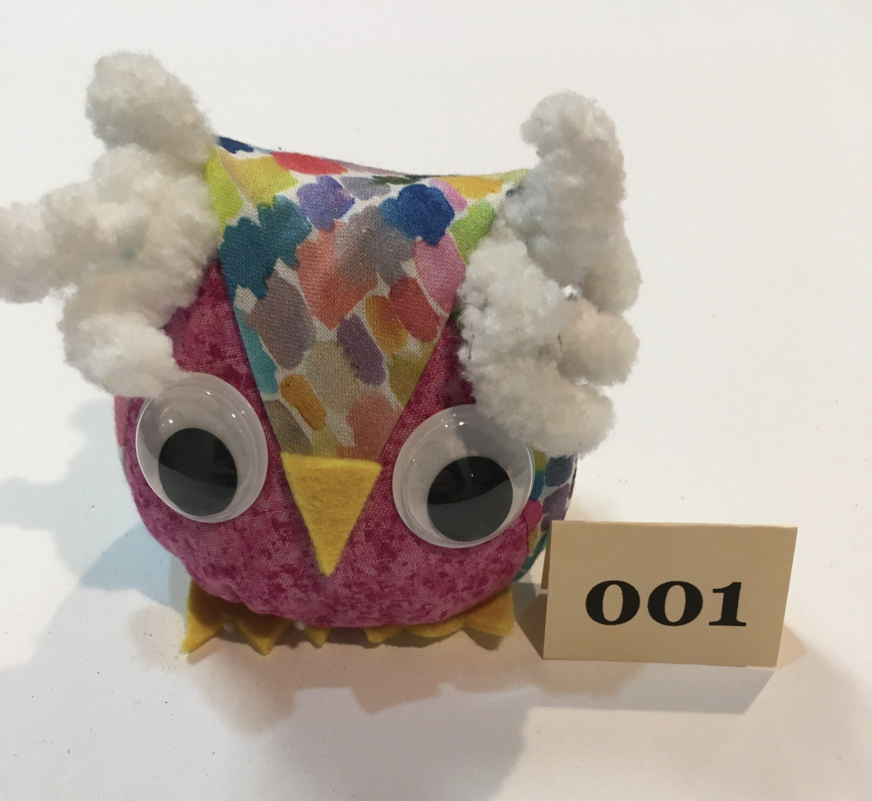 Large Owl Pincushion