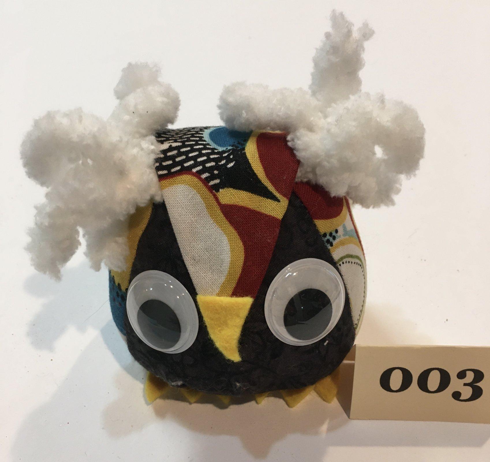 Large Owl Pincushion