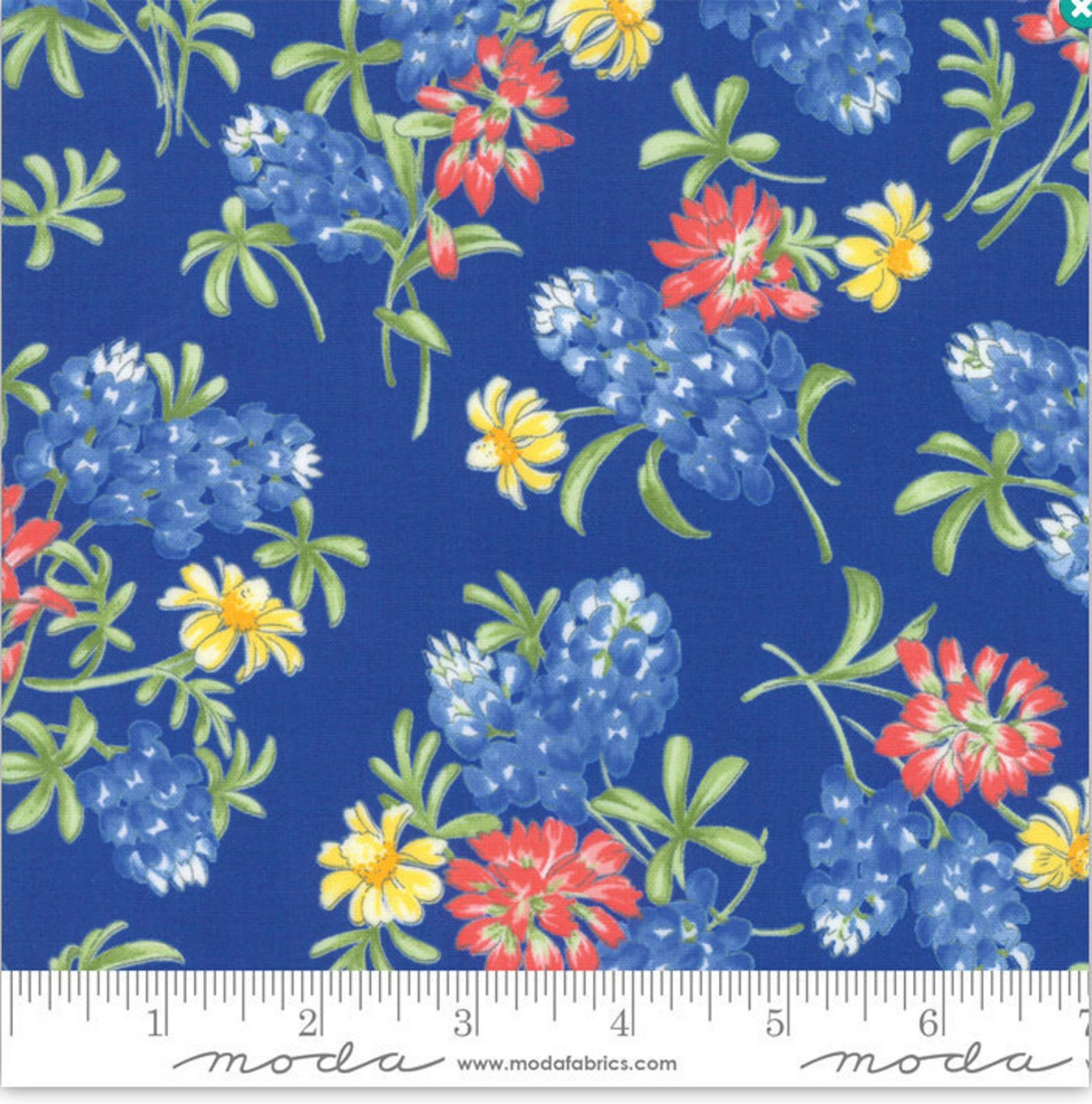 Moda Fields of Blue Royal - Item # 33452 14