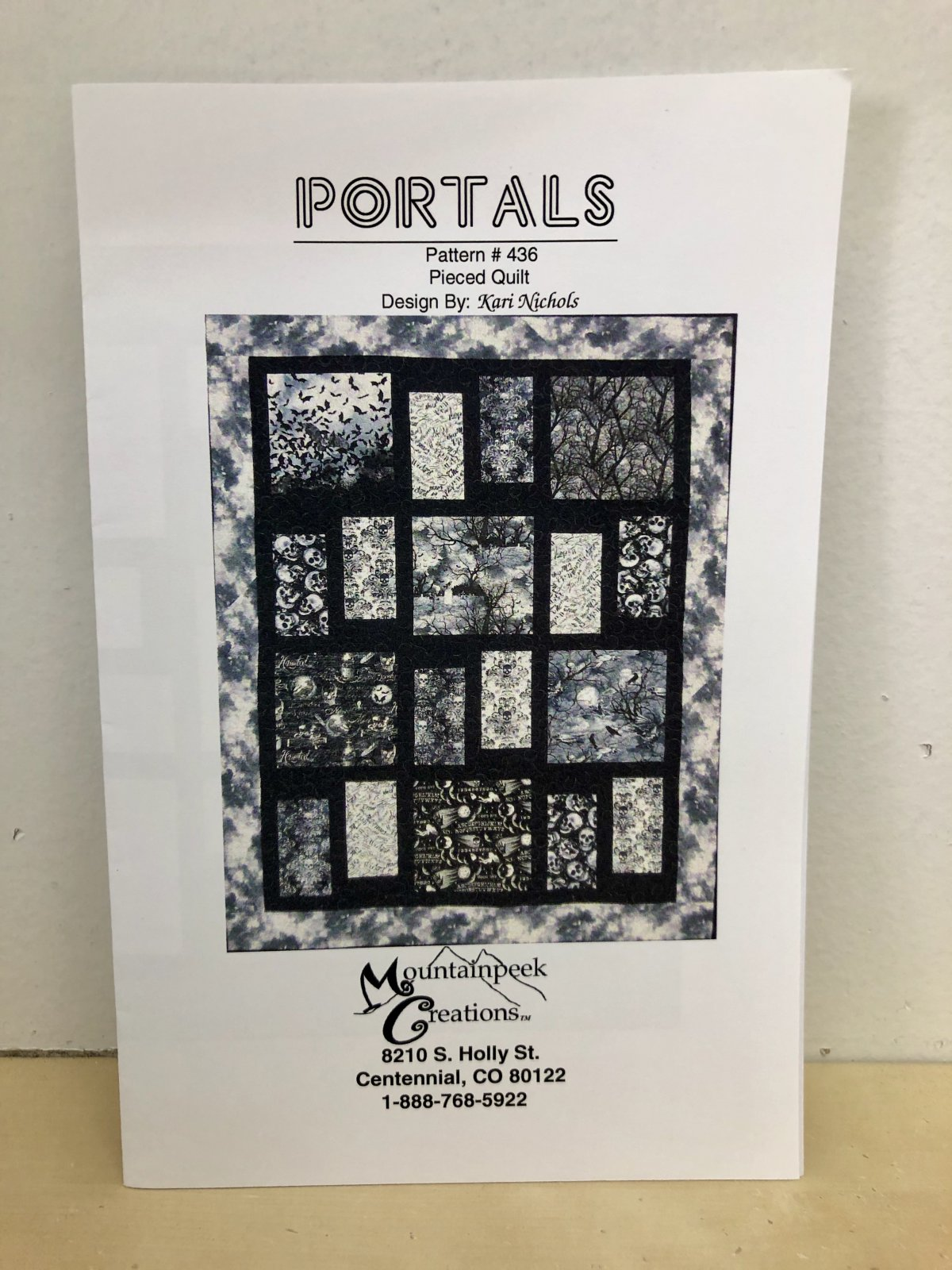 Portals Quilt Pattern #436 by Mountainpeek Creations