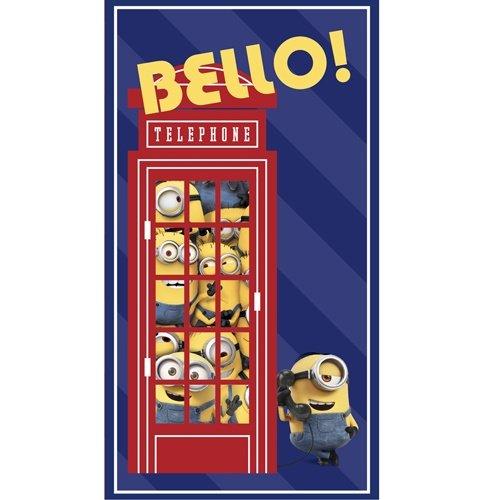 MINIONS NAVY-BELLO! TELEPHONE PANEL (24)