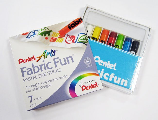 Fabric Fun Dye Sticks 7ct PTS7 Pentel