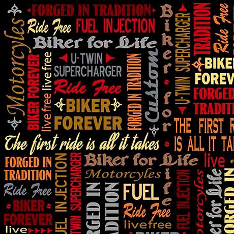 QT Biker for Life - Words and Sayings - 1649-26019-J