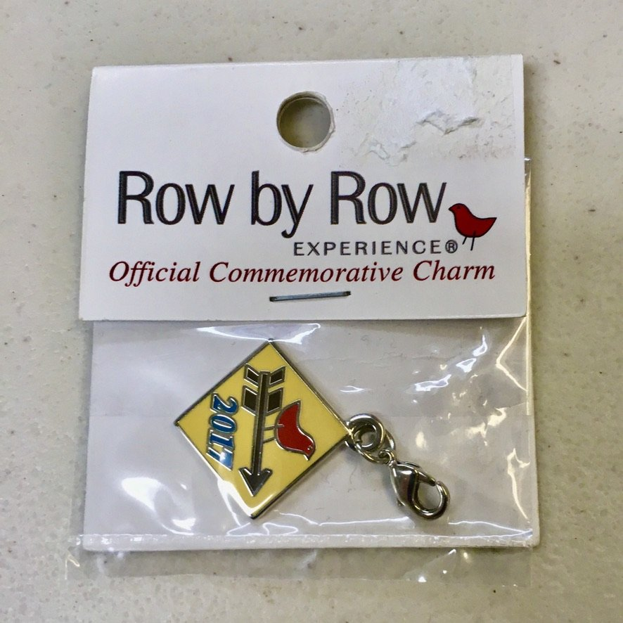 Row by Row 2017 Commemorative Charm