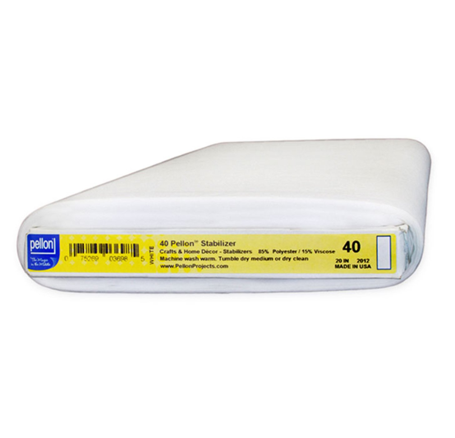 Pellon #40 Sew-in Medium Weight Interfacing 20 wide for Medical Masks