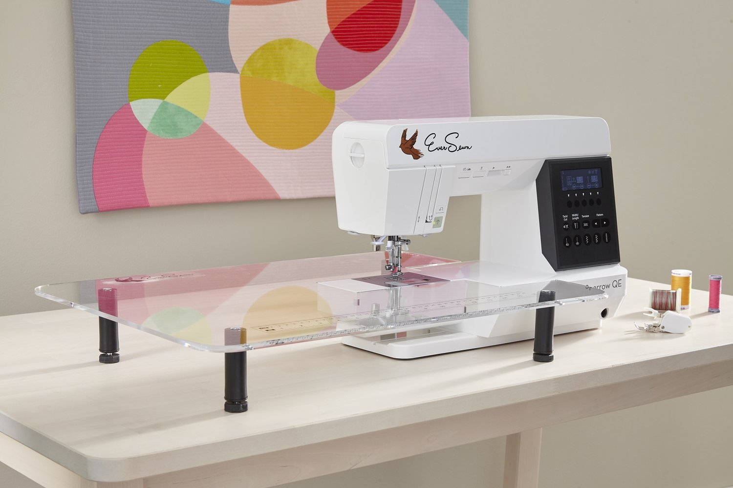 EverSewn Sparrow QE Quilting and Sewing Machine
