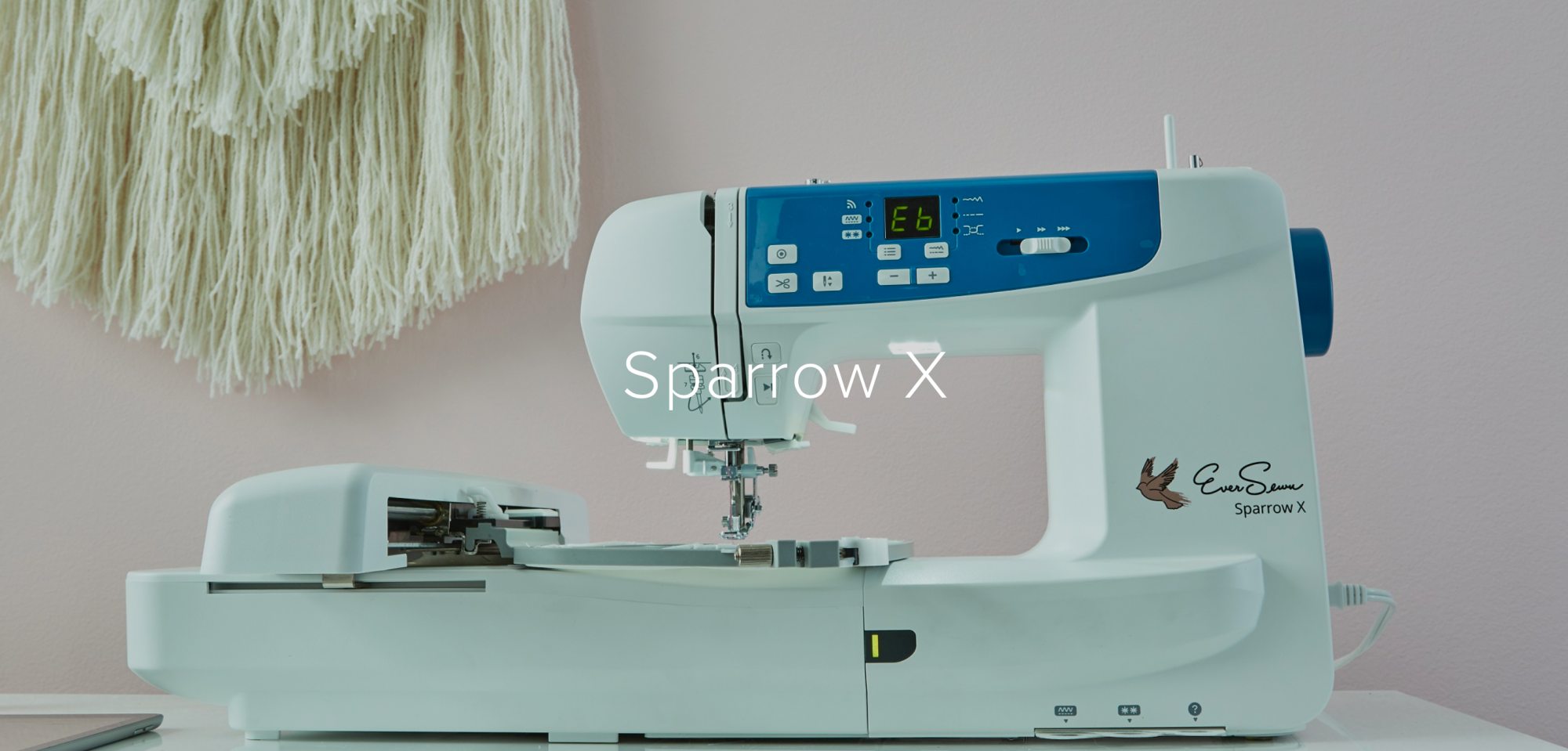 EverSewn Sparrow X Embroidery Machine