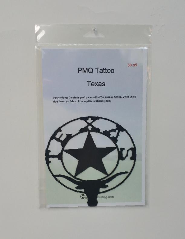 PMQ Tatto Star and Bull Texas