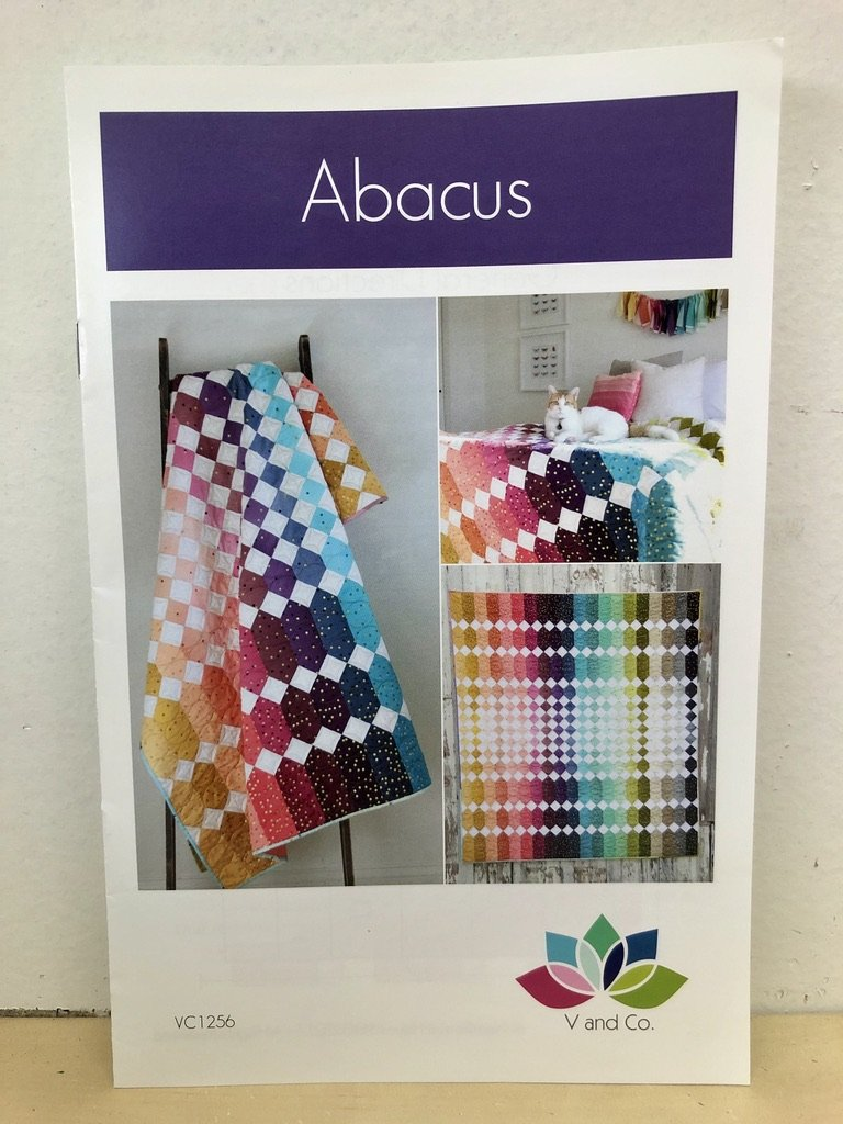 Abacus Quilt Pattern by V and Co. #VC 1256