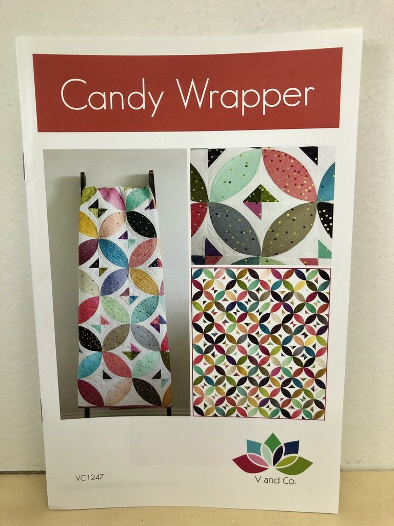 Candy Wrapper Quilt Pattern by V and Co. #VC 1247