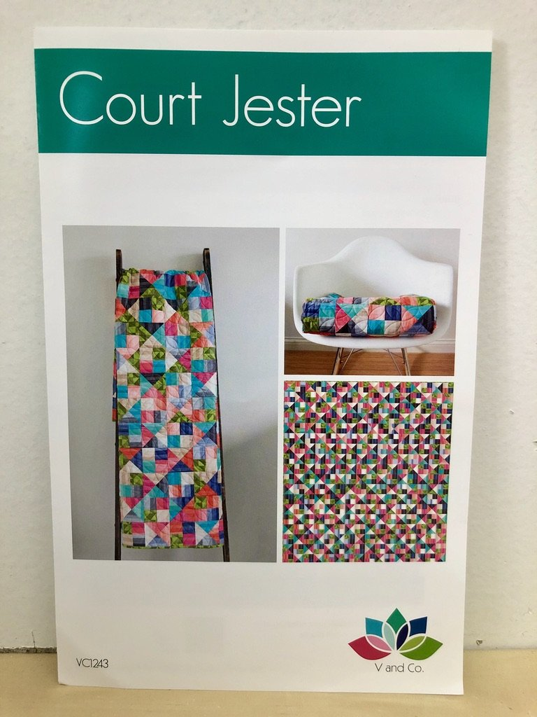 Court Jester Quilt Pattern by V and Co. #VC 1243