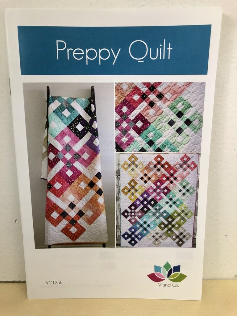 Preppy Quilt Pattern by V and Co. #VC 1258