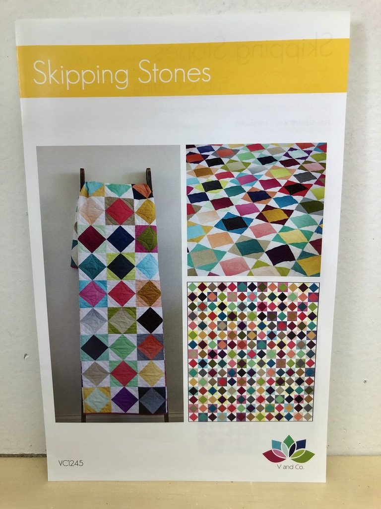 Skipping Stones Quilt Pattern by V and Co. #VC 1245