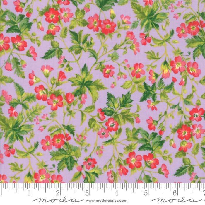 Wildflowers IX Lilac 33382 12 by Moda