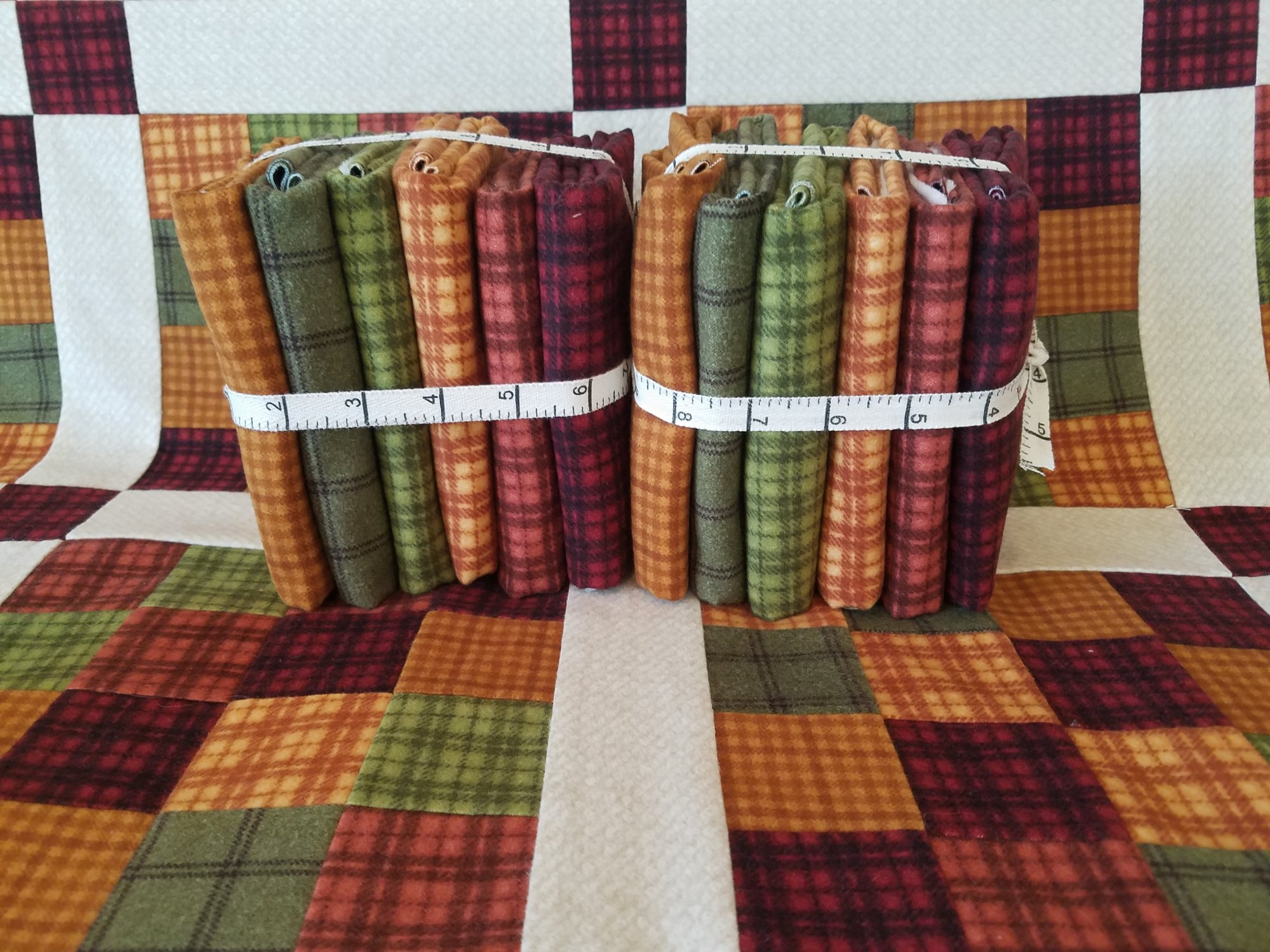 NW Forest - Flannel Bundle - 6pc - 1/2 yd cuts