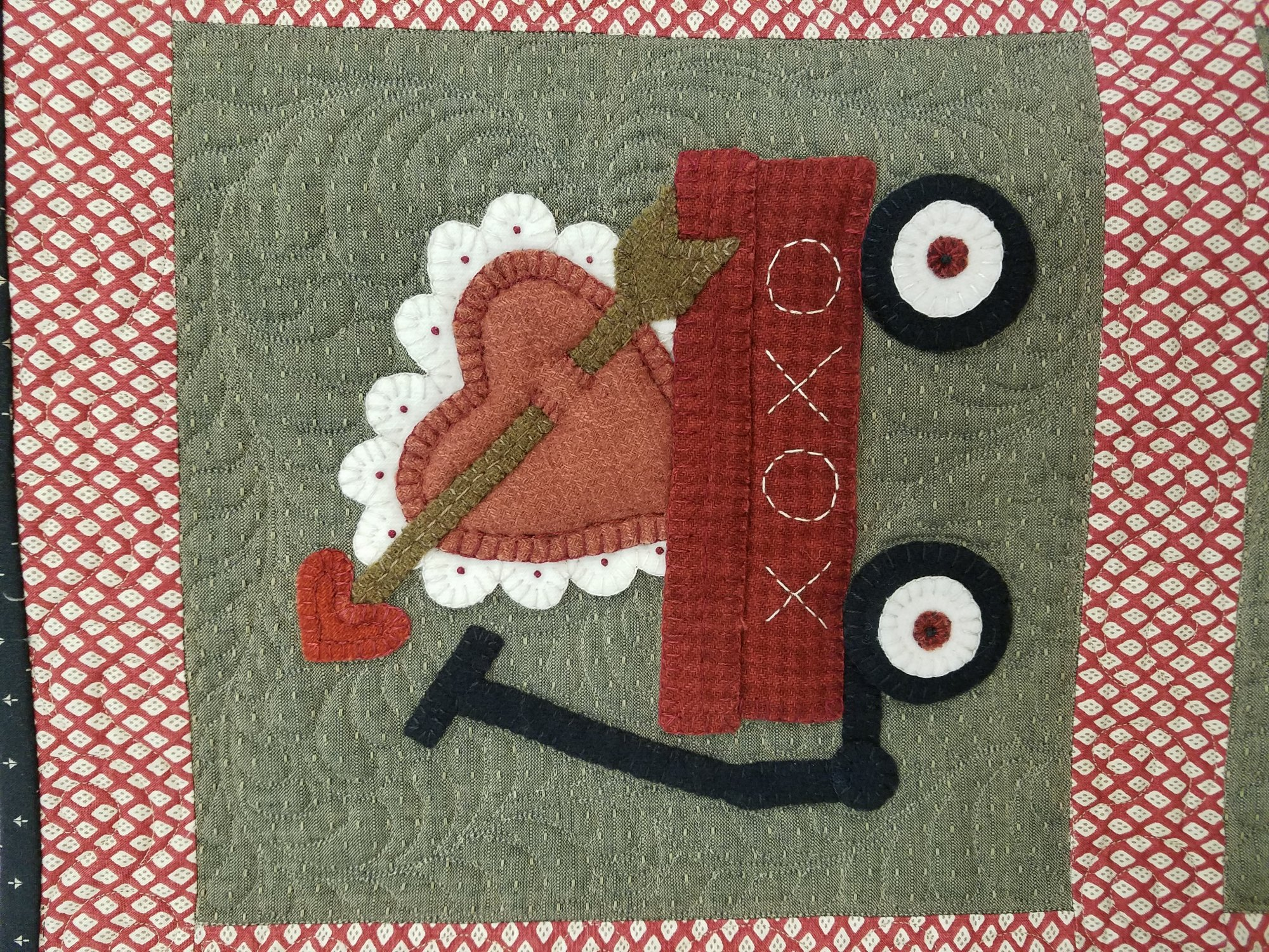 Month 2 -  BOM - My Wooly Red Wagon
