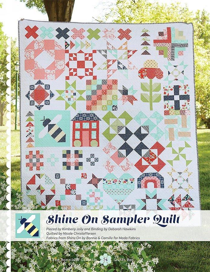 Shine On Sampler Quilt BOM - FULL KIT