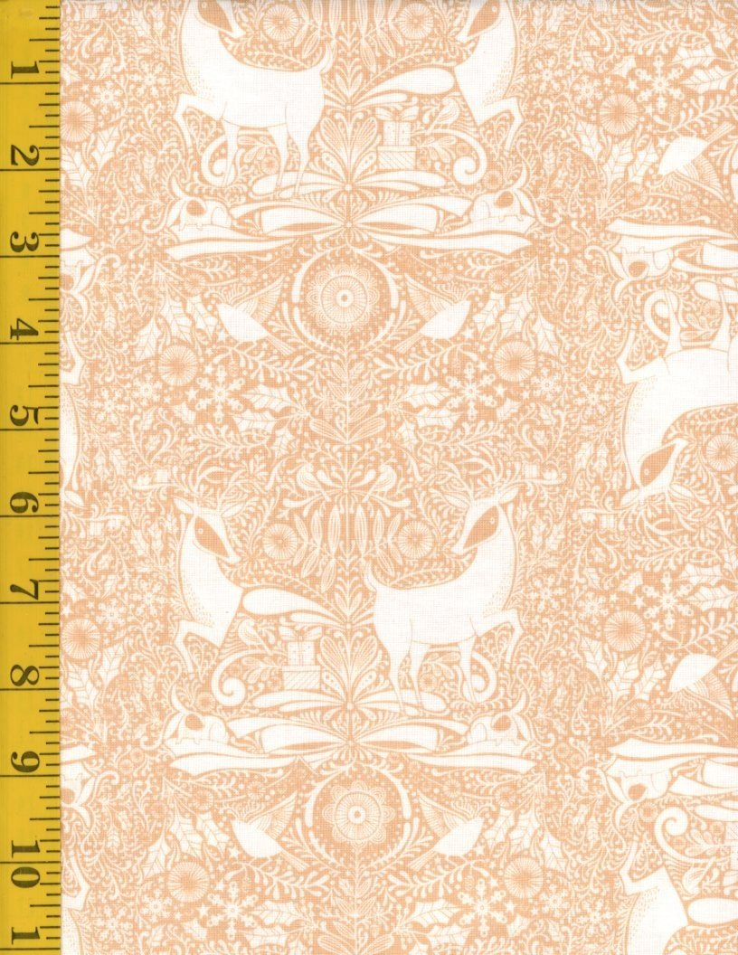 I Love Christmas - The Gathering Toile - Craft - Tan