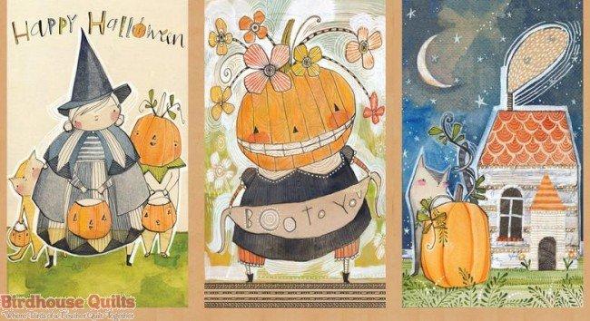 Spooky Town - Happy Halloweeny - Panel