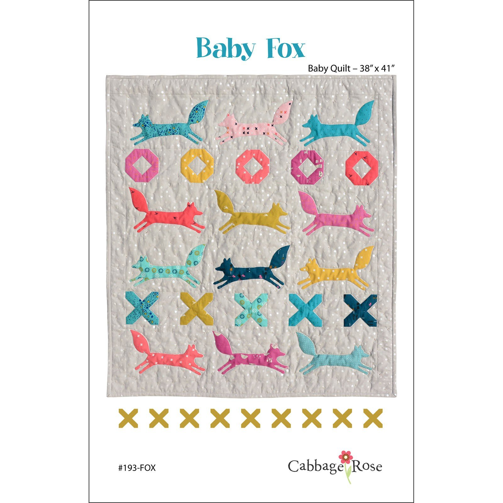 Pattern - Baby Fox