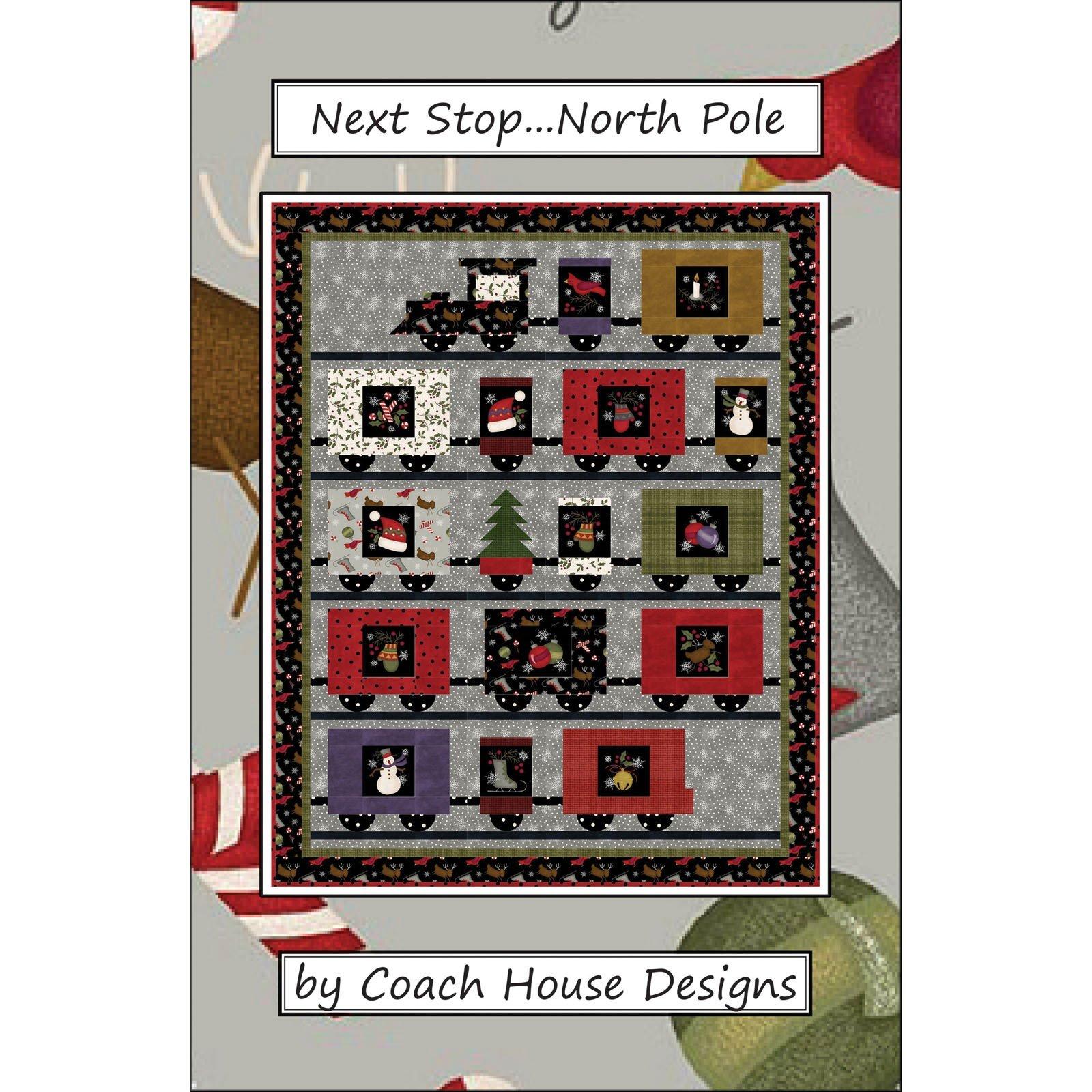 Next Stop North Pole - pattern