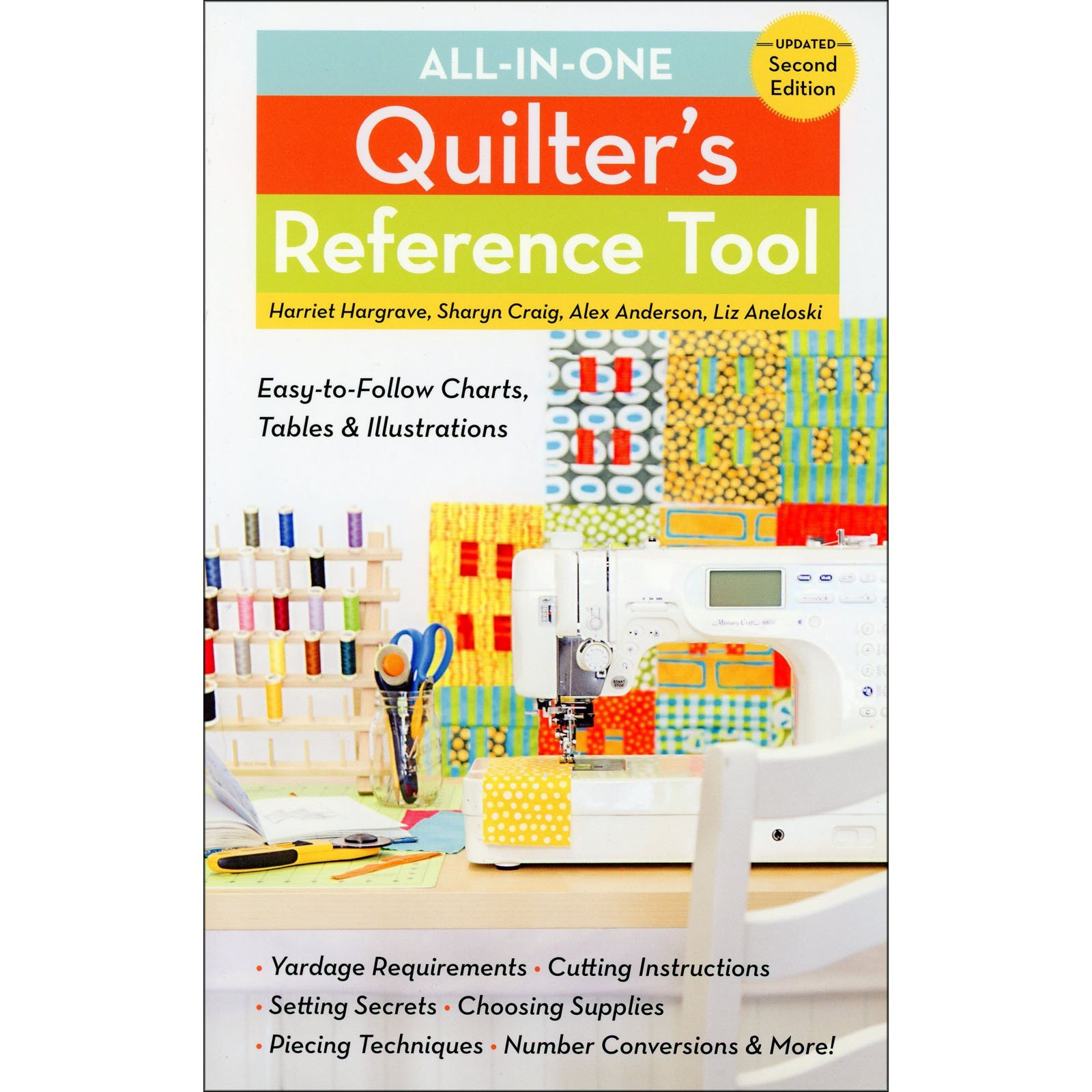 Book - All In One Quilter's Reference Tool Updated