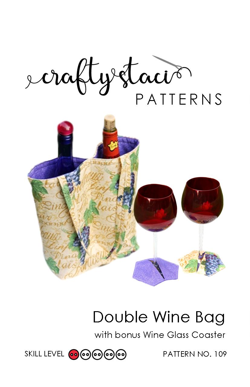 Double Wine Bag - Pattern