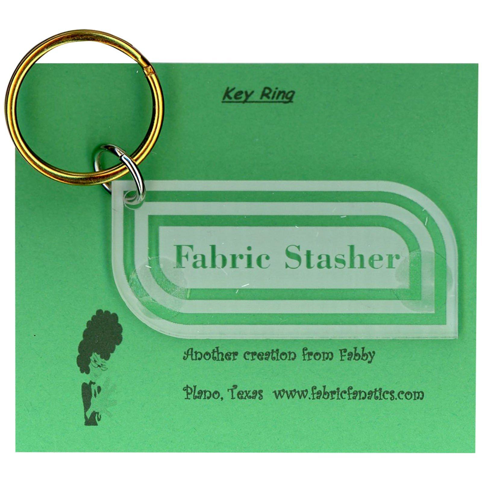 KEYRING FABRIC STASHER