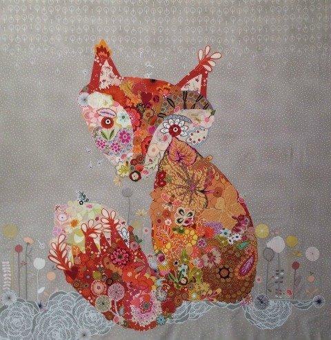 Freida collage quilt - pattern