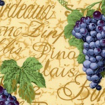 Wine Grapes - 1 yd. cuts