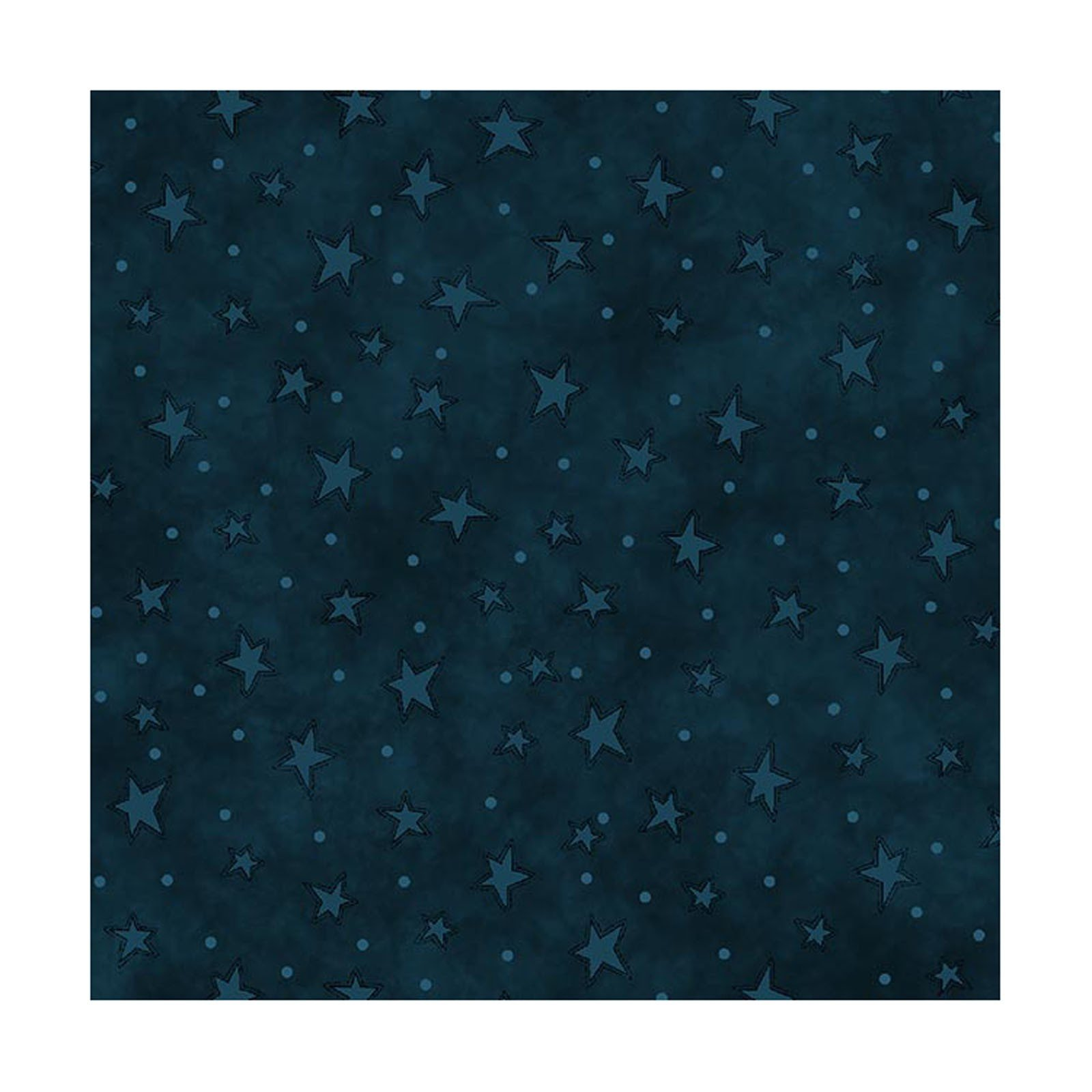 Starry Basics - Blue Stars