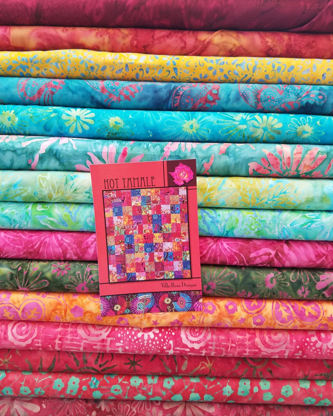 Hot Tamale! - Batiks Kit