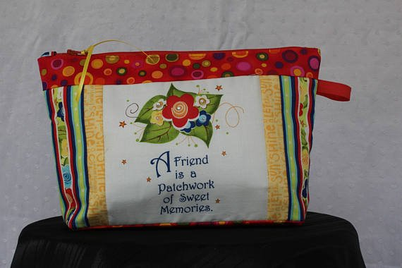 Zipper Bag - Quotables