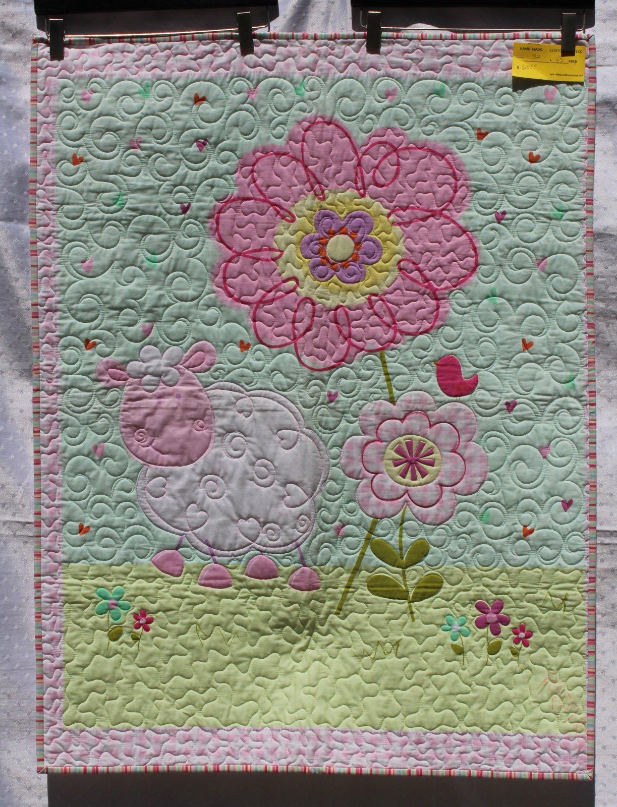 Baby Flower Quilt