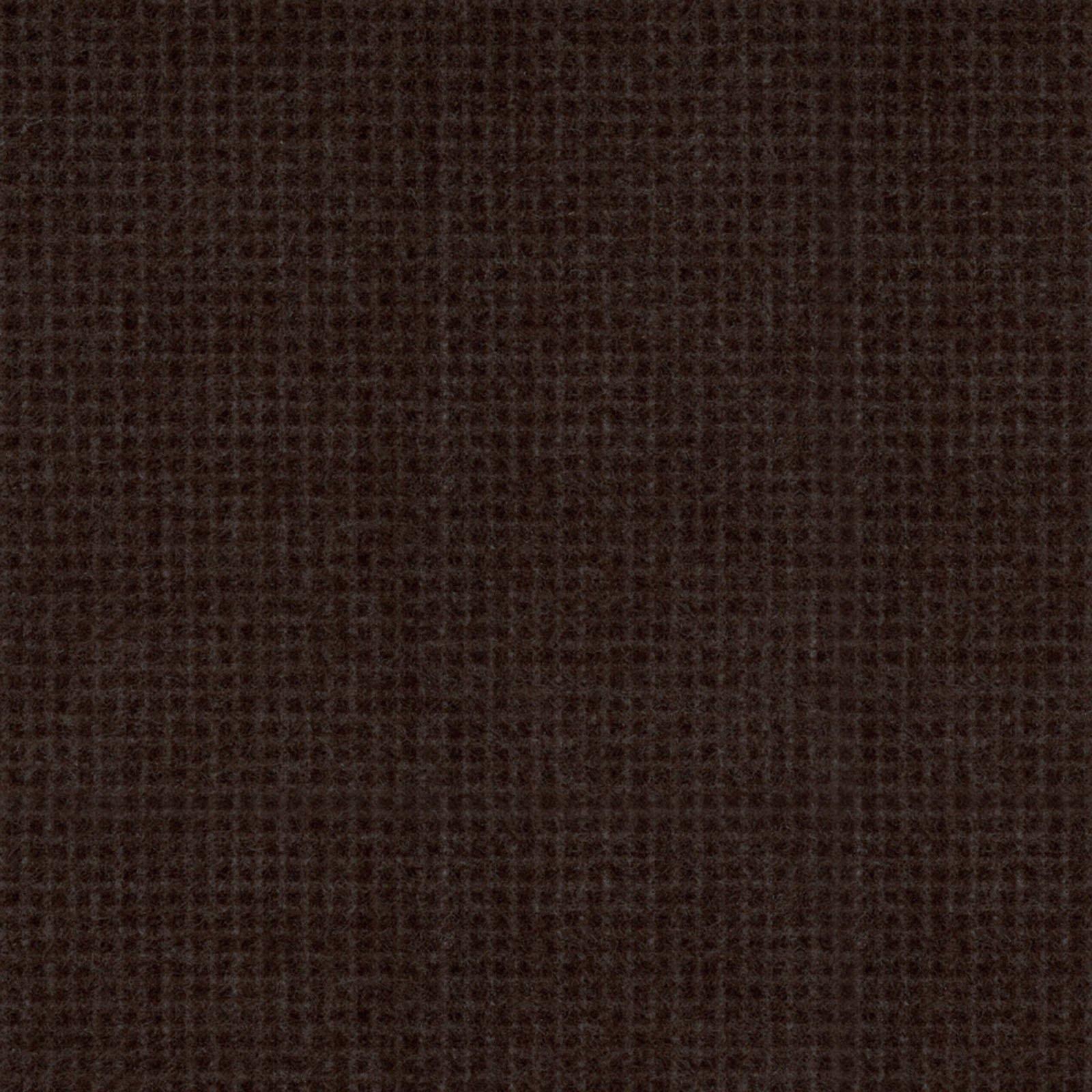 Dark Brown - Weave - Woolies Flannel