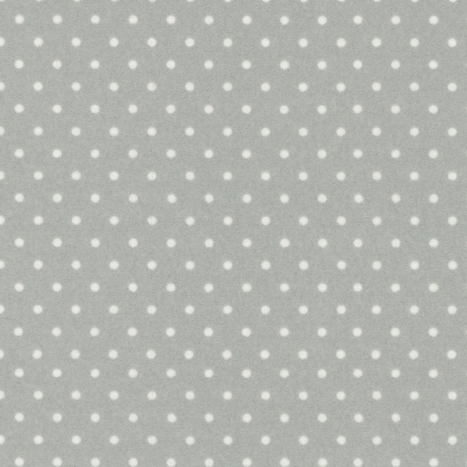 Polka Dots - Grey - Woolies Flannel