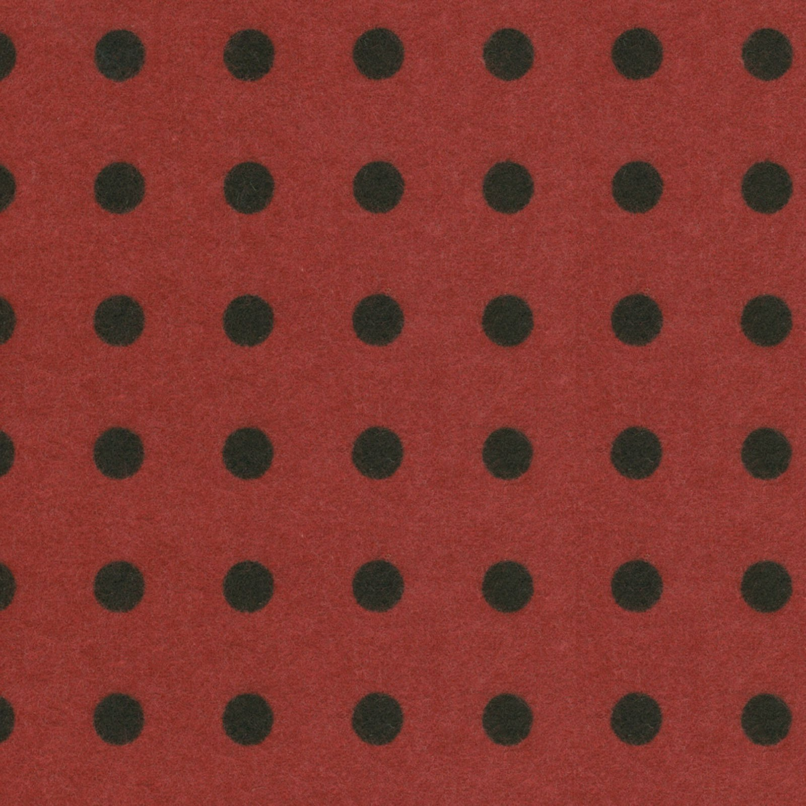 Large Polka Dots - Red - Woolies Flannel
