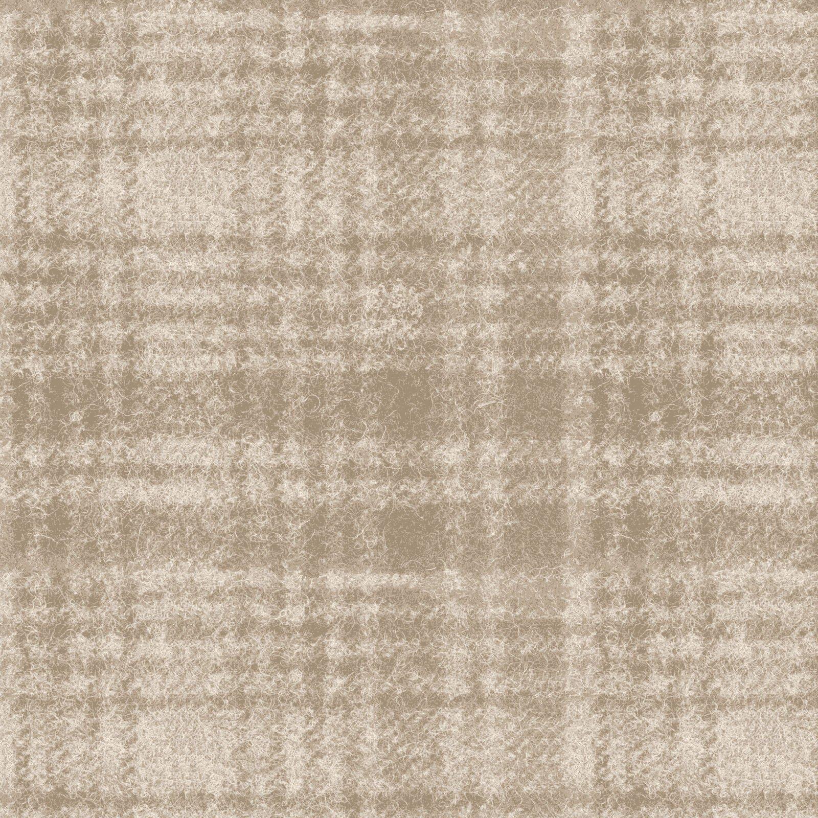Woolies Flannel - Windowpane - Light Tan - 1/2 Yd Cuts