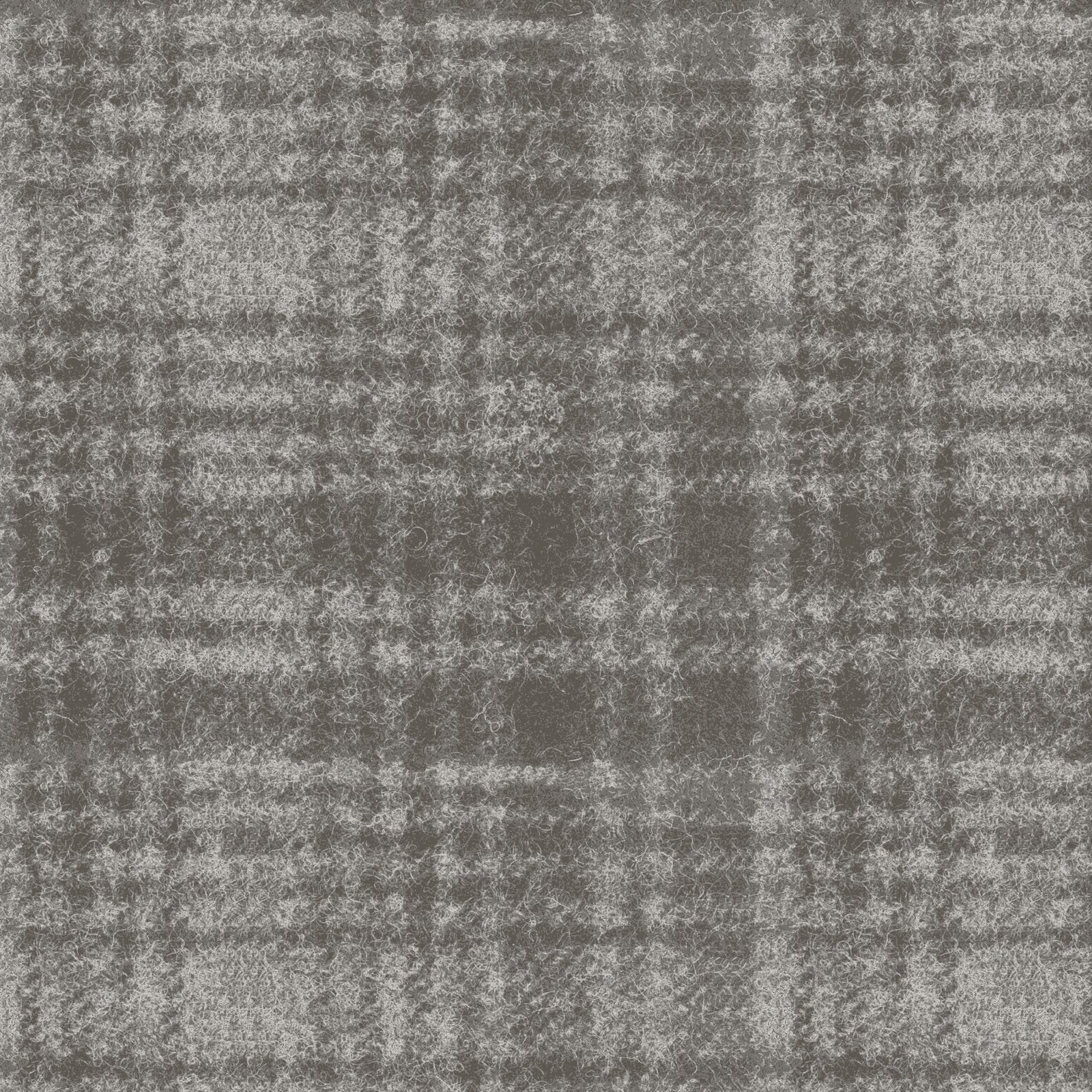 Woolies Flannel - Windowpane - Grey - 1/2 Yd Cuts
