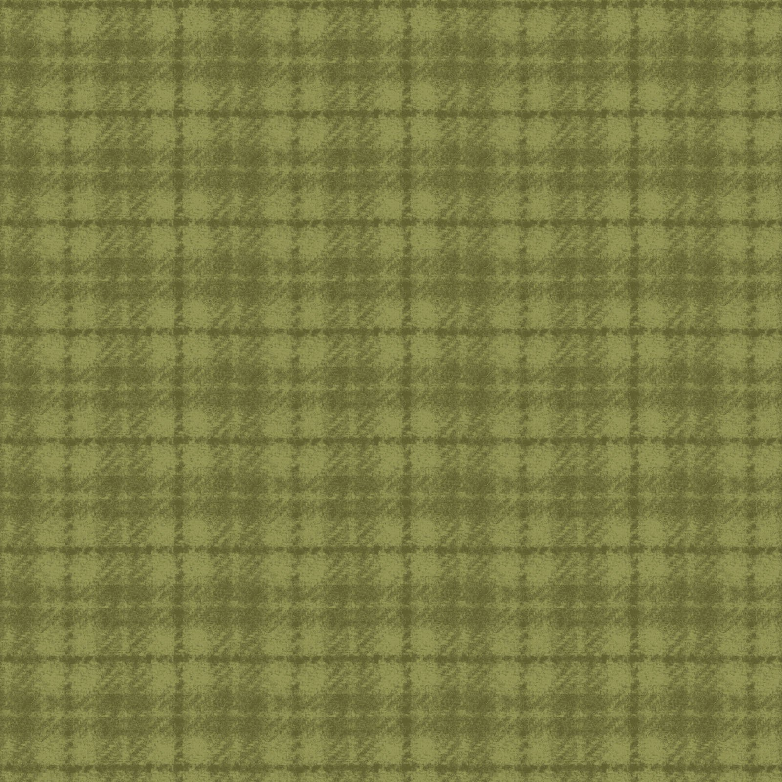 Green - Plaid - Woolies Flannel