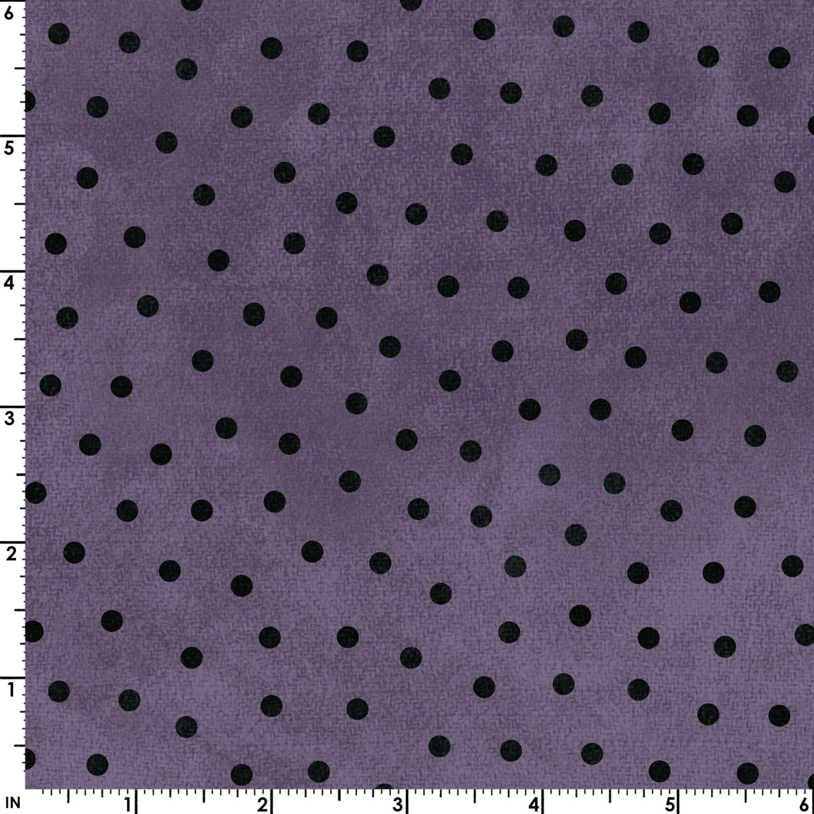 Polka Dots - Purple - Woolies Flannel
