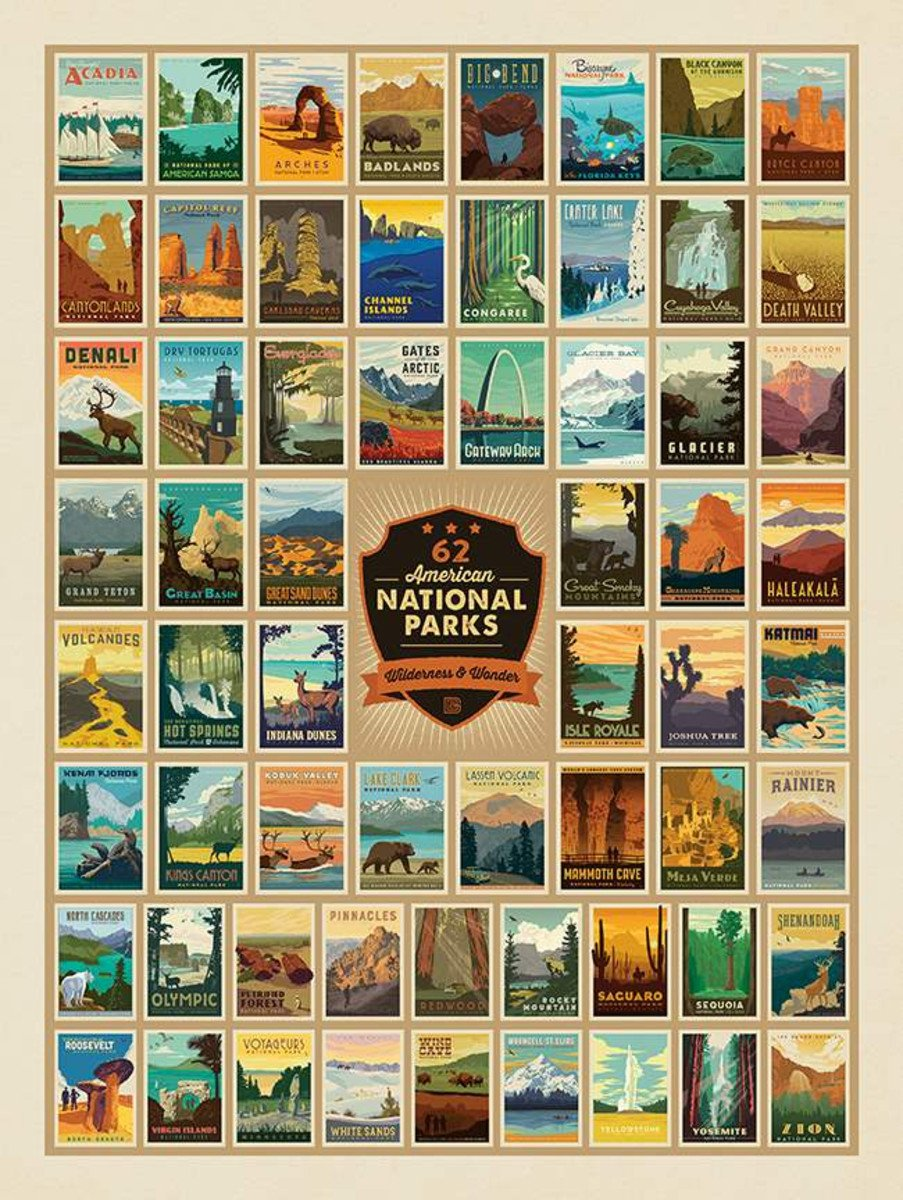 National Parks 2 Yard Panel
