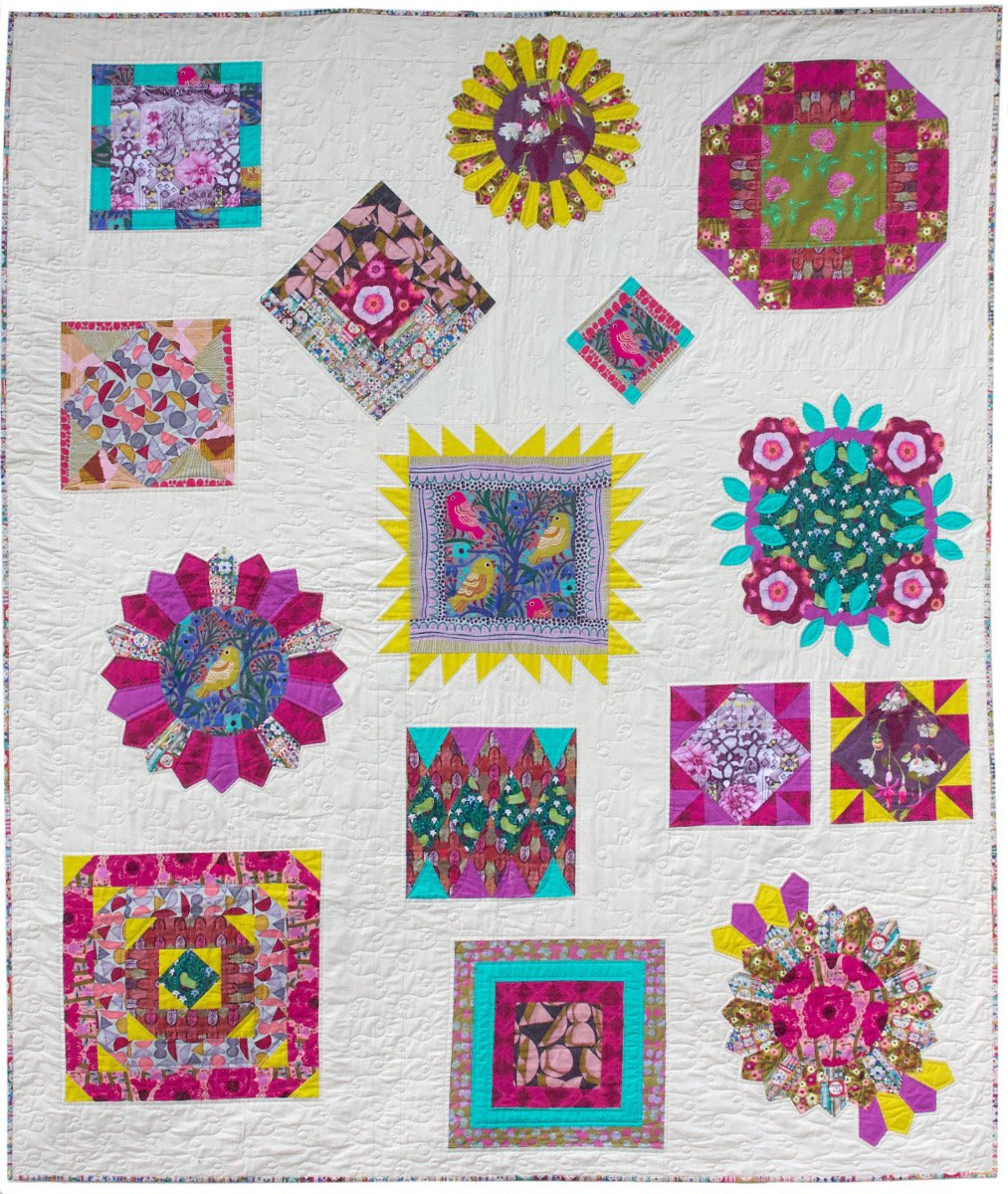 Pathways Quilt Pattern - PDF DOWNLOAD - Designed by Anna Maria Horner and Pam Matthews