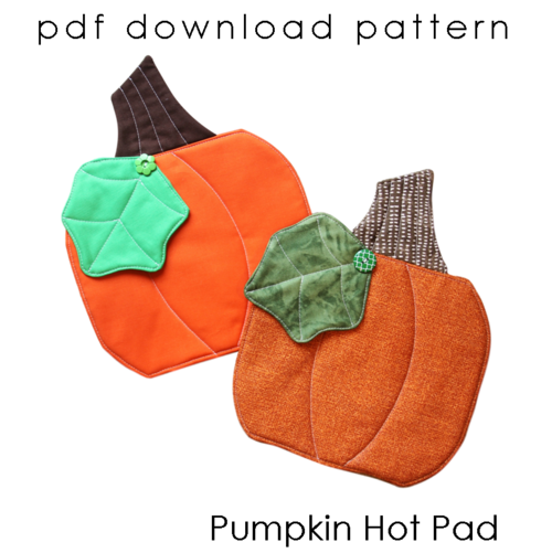 CS - Pumpkin Hot Pad pattern