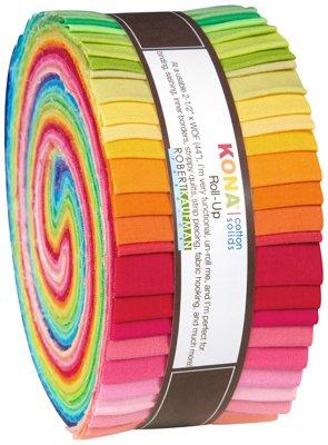 Kona Cotton New Bright Palette Roll Ups