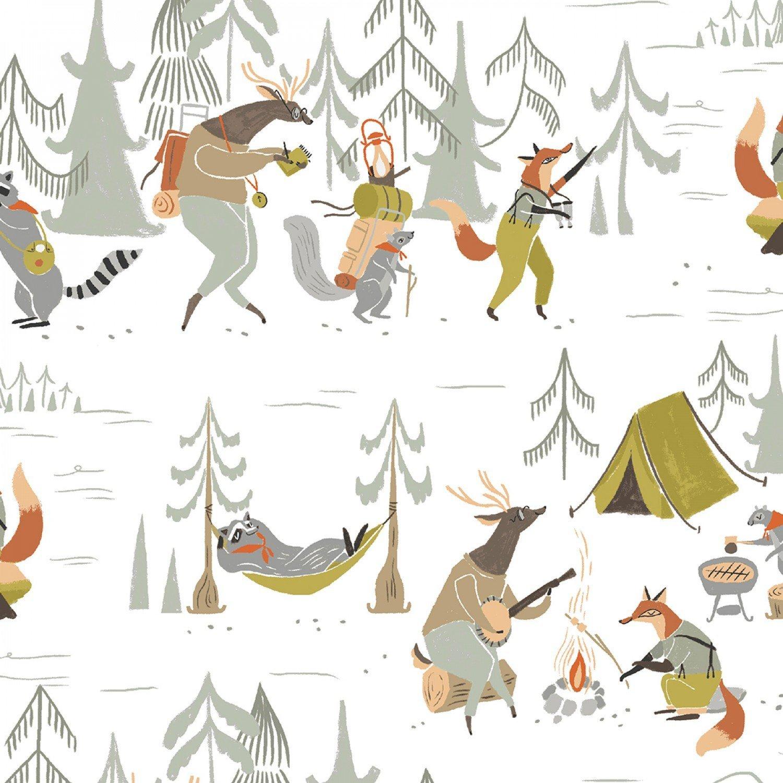 Camp Wander - White