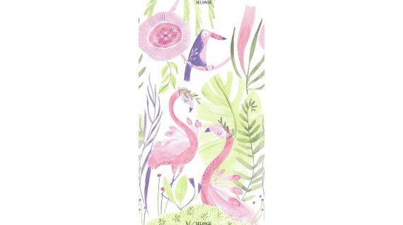 24 Wide Flamingo Panel - White